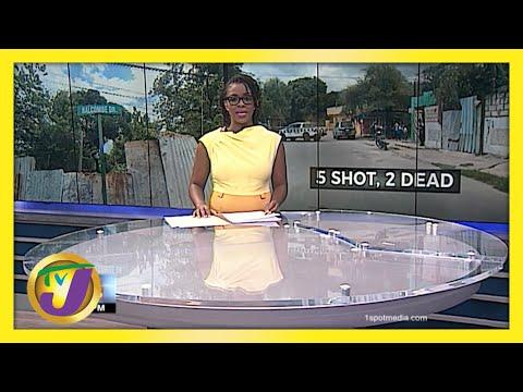 5 Shot, 2 Dead in Balcombe Drive Shooting in Jamaica | TVJ News