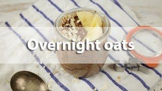 Overnight oats - Recept