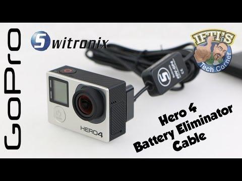 Switronix DV-GP4 GoPro Hero 4 Battery Eliminator Cable : REVIEW