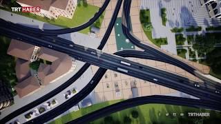 Ulus meydanında araç trafiği tamamen yerin altına alınacak