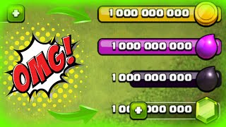 SPENDING OVER 1 BILLION GEMS IN CLASH OF CLANS!! - Clash Of Clans Private Server
