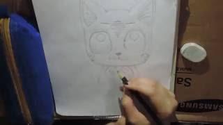 Desenhando Happy () Por: Michelle Silveira