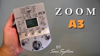Zoom A3 - Acoustic Guitar Multi Effects