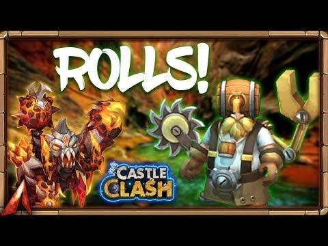 Rolling Gems! Sasquatch Anywhere!? Castle Clash