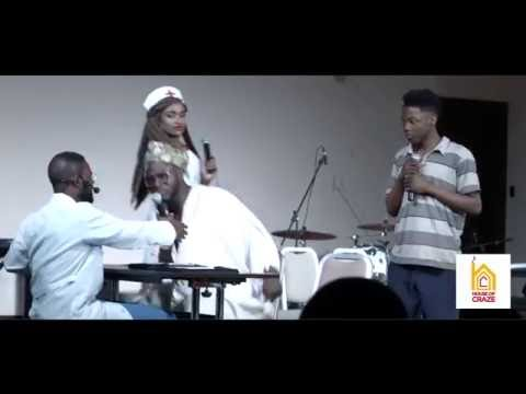 "Video (Play): Stage Play By Crazeclown, Falz and Ade in Ukraine ""your survival chance is a limitation"""