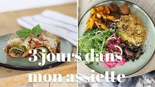 What I eat in a day #4 (Végétalien) | ectomorphe