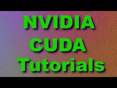 CUDA Tutorial 4: Threads, Thread Blocks and Grids