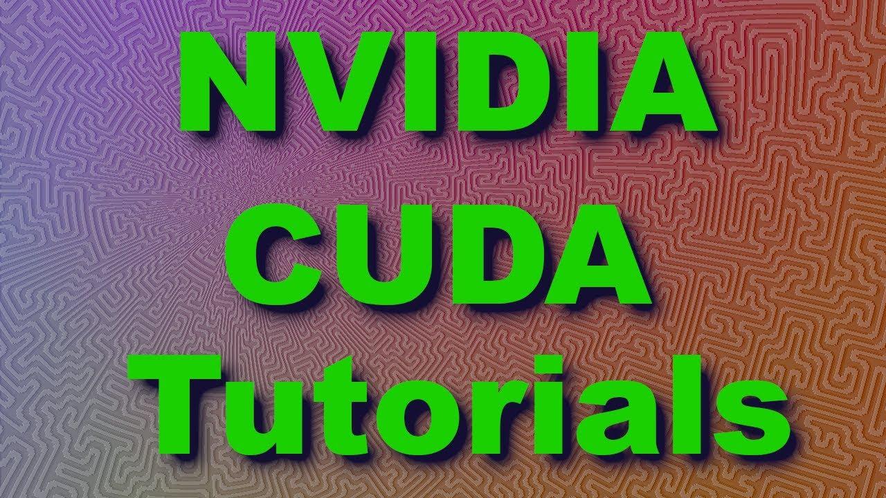 NVIDIA CUDA Tutorial 4: Threads, Thread Blocks and Grids