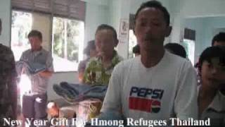 New Year Gift For Hmong Refugees Thailand 1