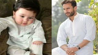 Saif Ali Khan drags Taimur Ali Khan into Nepotism Controversy