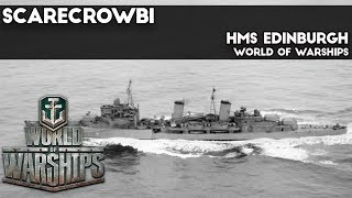 World of Warships HMS Edinburgh (Tier VIII British Cruiser)