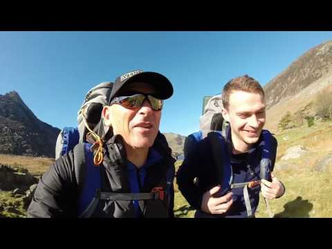 Bear Grylls weekend in Snowdonia