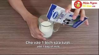 Cách pha matcha trà xanh sữa thơm ngon trong tích tắc