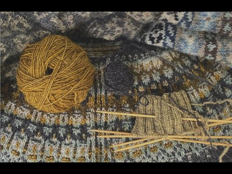 The Gentle Knitter Ep.  40 - Faded colourwork