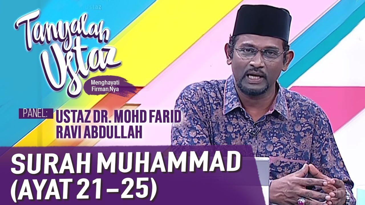 Download Tanyalah Ustaz (2020) | Tafsir 7 Tarannum : Surah Muhammad (Ayat 21 - 25) (Fri, Nov 20)