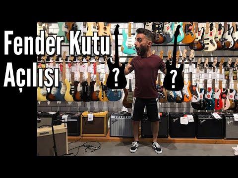 Fender Kutu Açılışı! (Kutudan Neler Çıktı?)