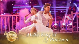 Mollie and AJ Rumba to 'Hopelessly Devoted To You' from Grease - Strictly Come Dancing 2017