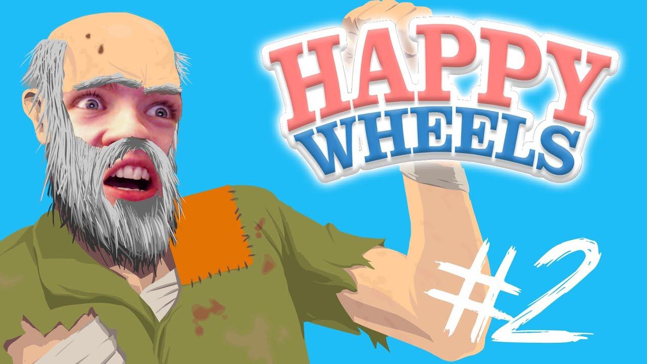 Happy Wheels Part 2 Ninja Training Youtube