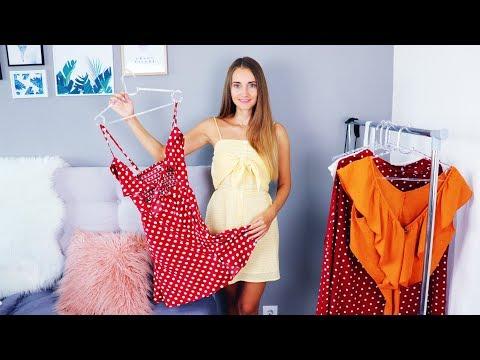 ЗАКАЗ ОДЕЖДЫ с китайского сайта ZAFUL на 200$   Платья, модные купальники   С ПРИМЕРКОЙ   HAUL