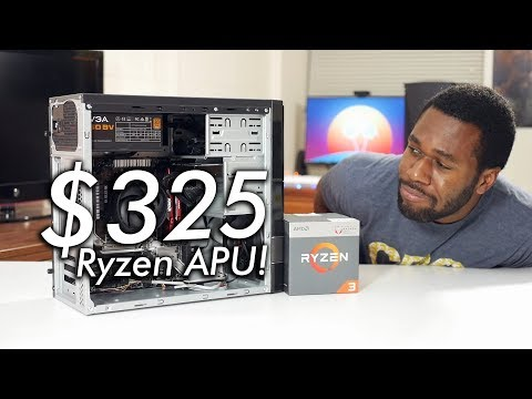 Brand New $325 / £325 Ryzen Gaming PC ft. Ryzen 3 2200G APU!