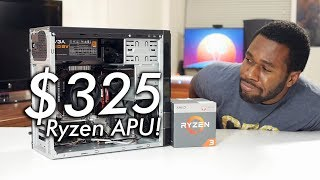 Brand New $325 / £325 Ryzen Gaming PC ft. Ryzen 3 2200G APU! | OzTalksHW