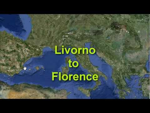How to get from Livorno to Pisa and Florence via train from your Cruise ship
