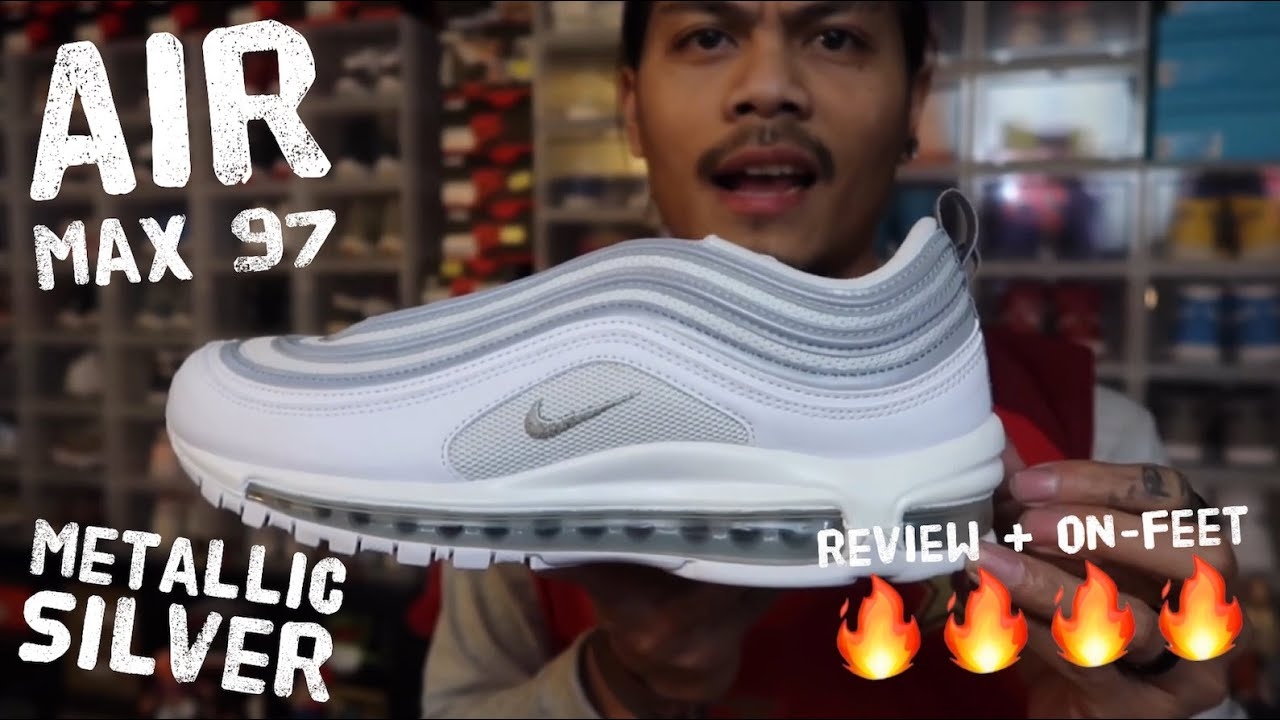 nike air max 97 white metallic silver review + on feet released date march 30 2019