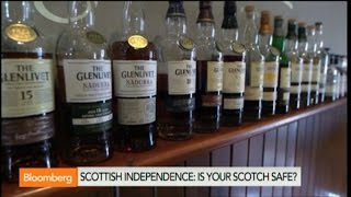How Scottish `Yes' Vote Could Affect Whisky Makers