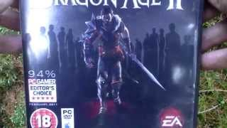 Dragon Age II BioWare Signature Edition Unboxing (PC) ENGLISH