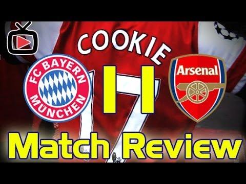 Arsenal 1 Bayern Munich 1 - Match Review