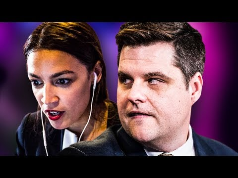 "Reporter Slams Matt Gaetz Over His ""Thirst"" For AOC"