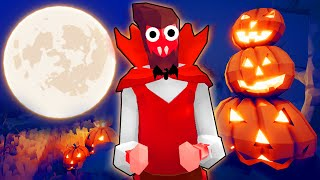 TABS - I Fight the NEW SPOOKY HALLOWEEN Faction! Halloween Update- Totally Accurate Battle Simulator
