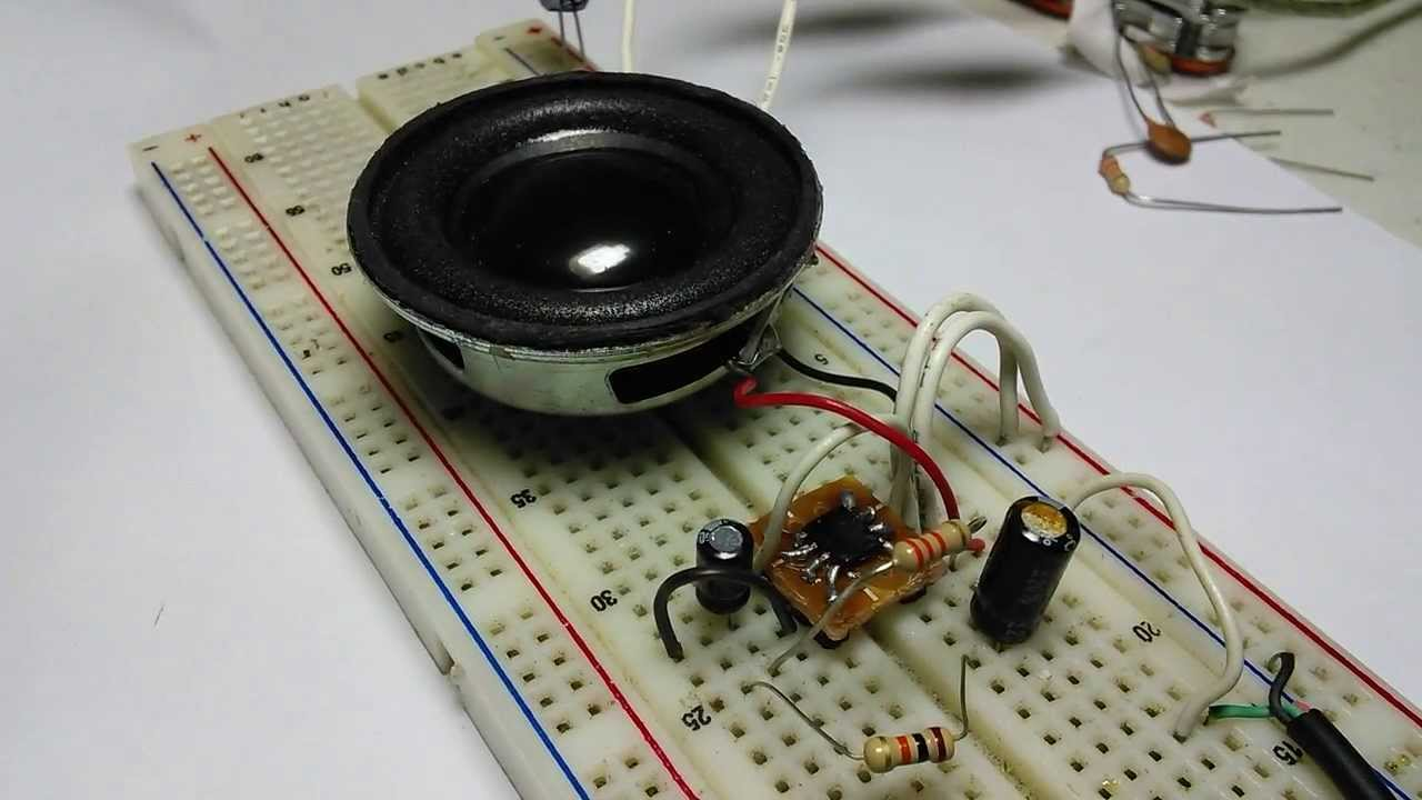 High Efficiency Amplifier Test Youtube 18w Audio Circuit And Explanation Electronic Circuits