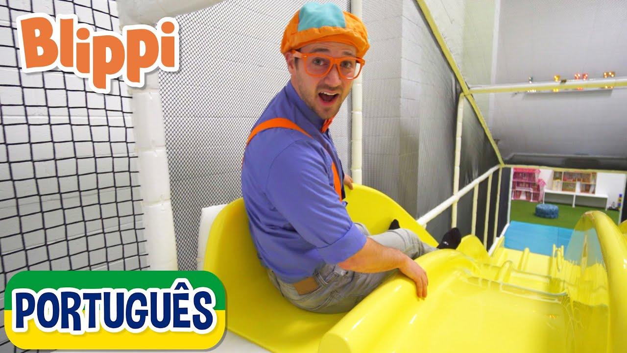 Blippi Leva Você ao Local de Jogo   +mais Vídeos Educativos para Crianças   As Aventuras de Blippi