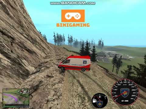 Gta San Andreas - Me Ambulanc Per Mount Chiliad!!!! /ShqipMapsTv