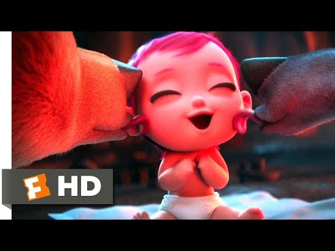 Storks (2016) - Wolves Love Babies! Scene (3/10) | Movieclips