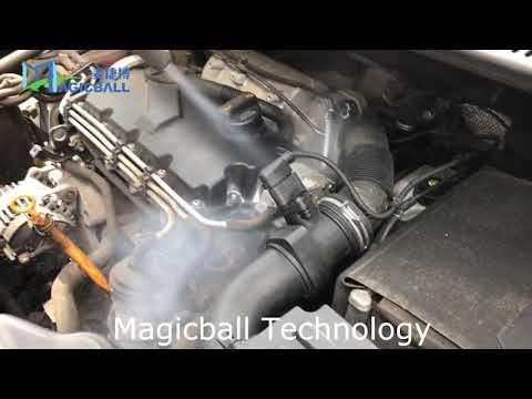 Dry ice blasting machine---engine clean, car wash