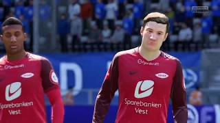FIFA 18 | Molde vs Brann | Norway Eliteserien | Gameplay HD