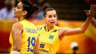 Best Volleyball Actions by Gabi | Volleyball Olympic Qualification Tournament 2019 (HD)