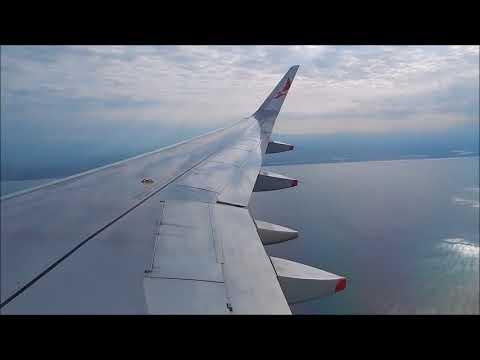 Avianca Airbus A319 N703AV Landing San Salvador