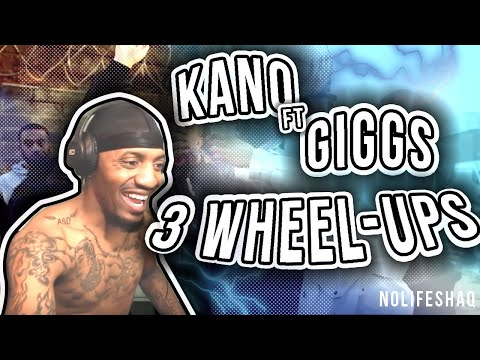 Kano - 3 Wheel-ups (feat. Giggs) | NoLifeShaq REACTION