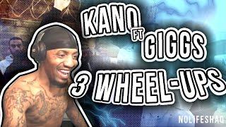 Kano - 3 Wheel-ups (feat. Giggs) | NoLifeShaq REACTION