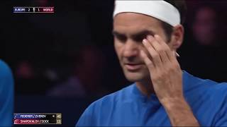 Federer/Zverev v Shapovalov/Sock | Laver Cup 2019 FULL MATCH 4 | 50 FPS HD