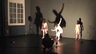 Tanzperformance: up your ass, Viginia!