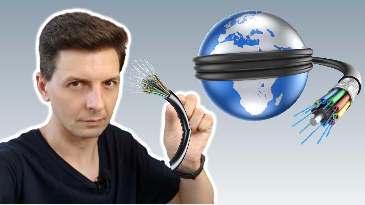 Cum funcționează internetul în lume? Care este cea mai rapidă fibră optică acvatică.