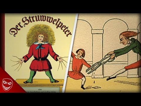Struwwelpeter, die größte Angst in unserer Kindheit! Schwarze Pädagogik!