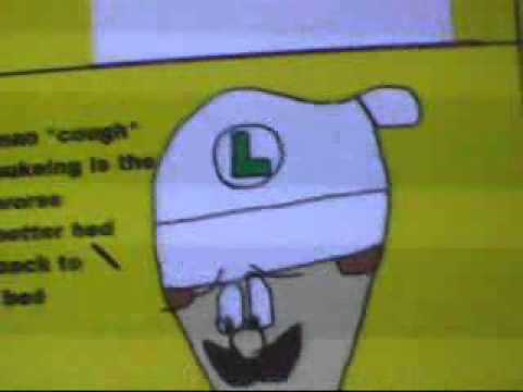 Luigi Sick Day Corey Nelson Comic Dubbed by Scratch
