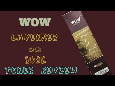 WOW Lavender & Rose Skin Mist Toner Review #the Best Beauty Junction