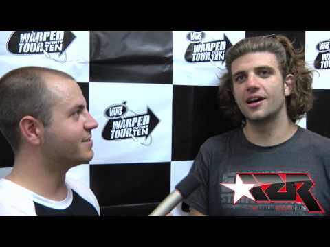 CLOSURE IN MOSCOW video interview at Vans Warped Tour