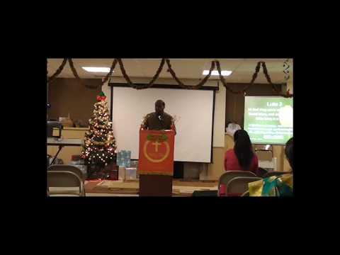 JFM Stamford Christmas Service 2017 - Sermon by Pastor Oswin Michael